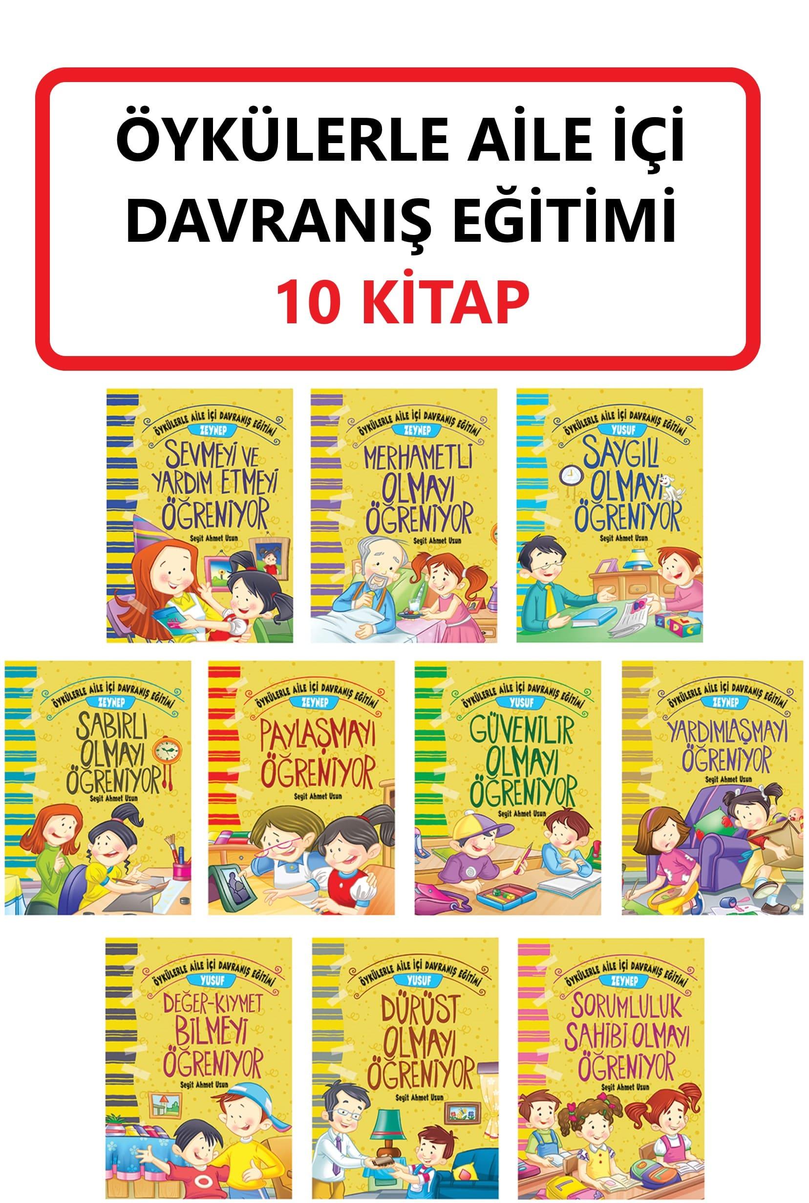DAVRANIŞ EĞİTİMİ SETİ 10 KİTAP
